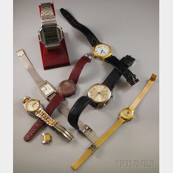 Group of Assorted Mostly Fashion Wristwatches
