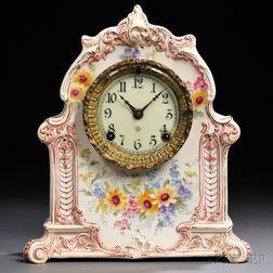 Ansonia Royal Bonn China Clock
