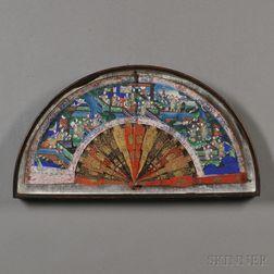 Framed Mandarin Fan