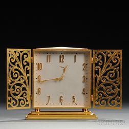 Imhof Gilt-brass Desk Clock