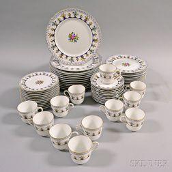 "Bernardaud ""Chateaubriand"" Porcelain Dinner Service for Twelve"