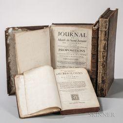 Early Books, Four Folio Volumes, 1626-1715.