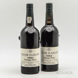 Taylor 1983, 2 bottles