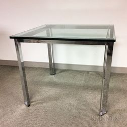Chrome and Glass Games Table