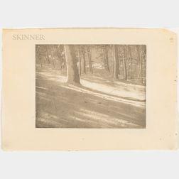 Alvin Langdon Coburn (British/American, 1882-1966)      Winter Shadows