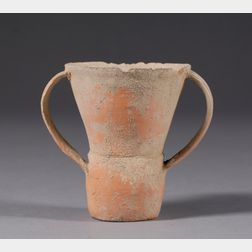 Stoneware Handled Cup