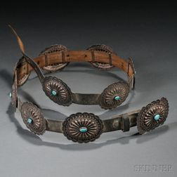 Navajo Concha Belt