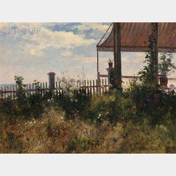 John Appleton Brown (American, 1844-1902)      Celia's Garden