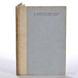 Yeats, William Butler (1865-1939) A Packet for Ezra Pound.