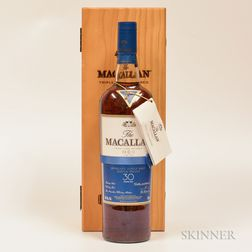 Macallan Fine Oak 30 Years Old, 1 750ml bottle (owc)