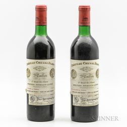 Chateau Cheval Blanc 1973, 2 bottles