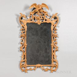George III Gilt and Carved Mirror