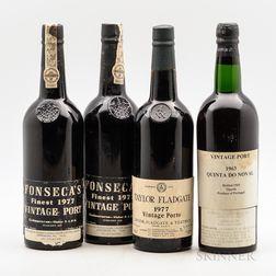 Mixed Vintage Port, 4 bottles