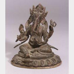 Bronze Figure of Ganesha