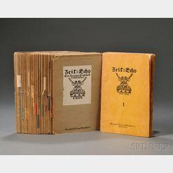 Zeit-Echo, Ein Kriegs-Tagebuch der Künstler