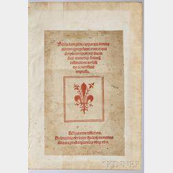 Bible, Post-Incunabula, Biblia cum pleno apparatu summariorum concordantiarum et quadruplicis repertorii sive in dicii numeriq[ue] foli
