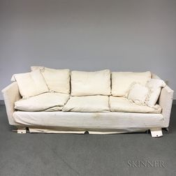 Design Research Upholstered Sofa