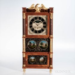 Birge & Gilbert Triple-decker Shelf Clock
