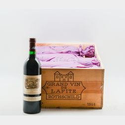 Chateau Lafite Rothschild 1988, 12 bottles (owc)