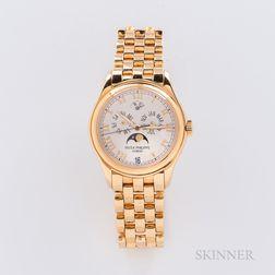 18kt Gold Patek Philippe Annual Calendar Reference 5036/1J Wristwatch