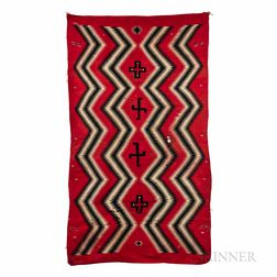 Navajo Germantown Eye-dazzler Textile