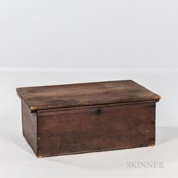 Pine Chip-carved and Molded Bible or Document Box