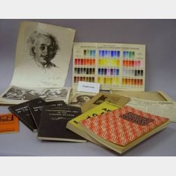 Lot of Early/Mid 20th Century Art School, Museum, and Related Ephemera.