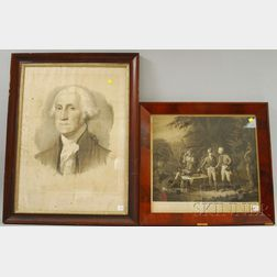 Two Framed Historical Prints