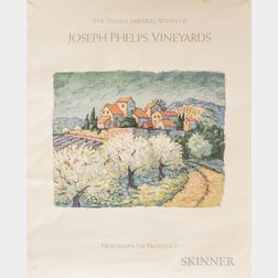 Napa Valley Wine Posters, 3 posters
