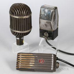 Three Ribbon Microphones