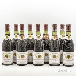 Domaine Font de Michelle Chateauneuf du Pape 1980, 9 bottles
