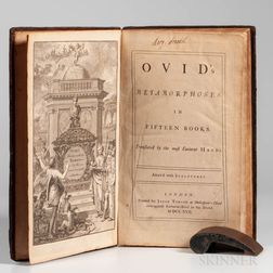 Ovid's Metamorphoses in Fifteen Books.