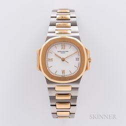 Single-owner Two-tone Patek Philippe Nautilus Reference 3800/001 Wristwatch