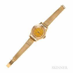 Movado 14kt Gold Wristwatch, Retailed by Raymond Yard
