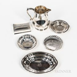 Six Pieces of Gorham Sterling Silver Tableware