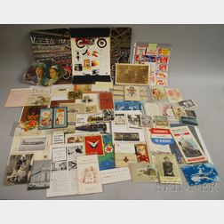 Group of Assorted 19th and 20th Century Paper, Ephemera, and Collectible Items