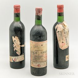 Chateau Lynch Bages 1967, 3 bottles