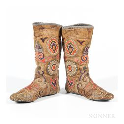 Uzbek Leather Boots