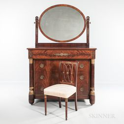 Empire-style Ormolu-mounted Bedroom Suite