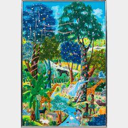 E.A. Othello (Haitian, 20th Century)      The Garden of Eden.
