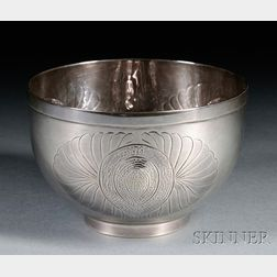 Henry Petzal Silversmith (1906-2002) Decorated Bowl