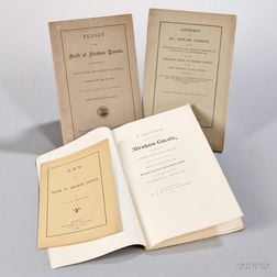 Lincoln, Abraham (1809-1865) Four Pamphlets.