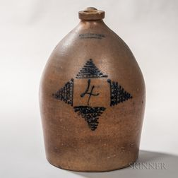 Four-gallon Stoneware Jug