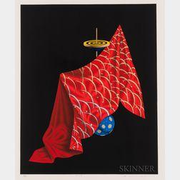 Shuji Wako (b. 1953), Three Lithograph Prints