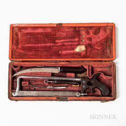 18th Century English Surgical or Amputation Set