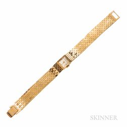 Retro Tiffany & Co. 14kt Gold Wristwatch