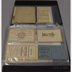 Group of Military Related Ephemera, Documents, and Collectibles