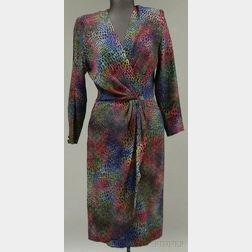 Hanae Mori Silk Dress