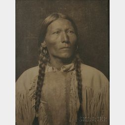 """Framed Photograph of """"Francisco"""" by Karl Moon (1879-1948)"""