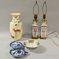 Six Assorted Ceramic Items